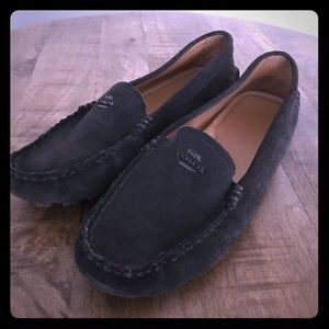 Coach Black Loafers 7.5